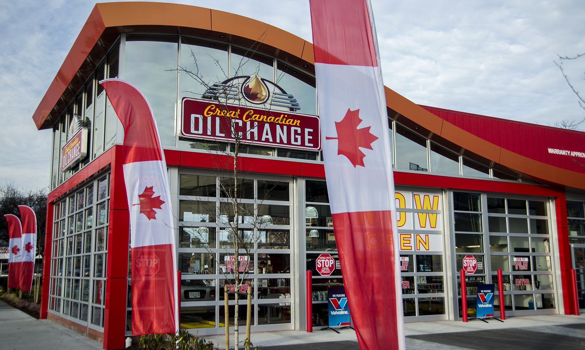 Great Canadian Oil Change on Douglas Now open
