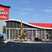 Construction of Great Canadian Oil Change